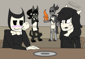 Draw Your Squad Meme 1#-Failed meal by RandyCorn
