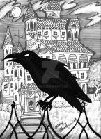 The Raven and The House of Usher by Stnk13