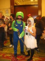 Anime Vegas Luigi and Ghost by Demon-Lord-Cosplay