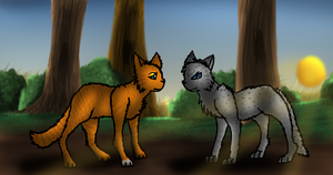Squirrelflight Rejects Ashfur by thekoicat