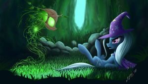 Trixie and Spriggan by ZiG-WORD
