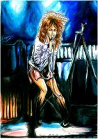 Tina Turner Comic style 2011 by Sass-Haunted