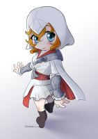 Assassin's Creed: Brotherhood - Chibi Mona by ChairimArrais