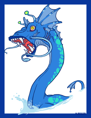 Monster Month #8 - Waterneck