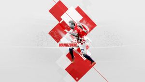 Mario Mandzukic Wallpaper by AlbertGFX