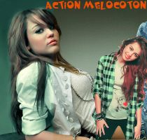 Action melocoton. by CharleneCastown