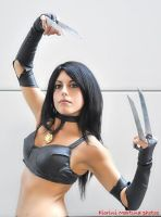 my cosplay Laura Kinney - X-23 by Michela1987