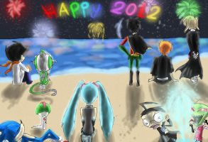 Happy New Year 2012 by HezuNeutral