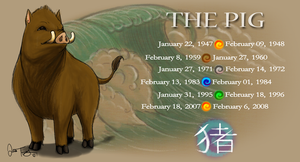 Year of the Pig by BlazeTBW
