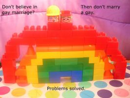 Socail problems with gay marriage