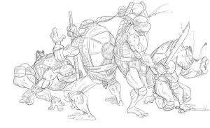 Tmnt by PascalDelorme1979