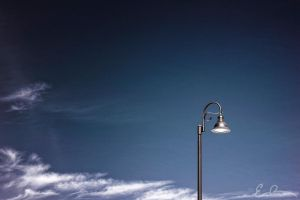 Solitary Light Post by eprowe