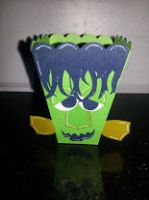 Frankie Popcorn Treat Box by UniqueDesignByMonica