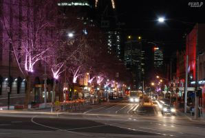 Bourke St. From Parliament by evan-p