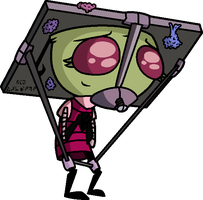 Table-Headed Service Drone Ina by StarryOak