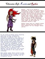 Kevin and Raiken - Character Info by Dreballin3x