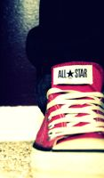 Chuck Taylors by greenlightxt