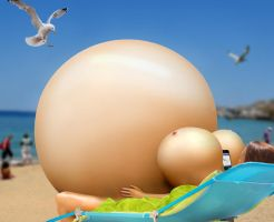 Beachball - (Happy Inflation Day 2014) by AirGrenade