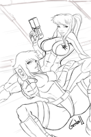 In Our Sights WIP by Syphron