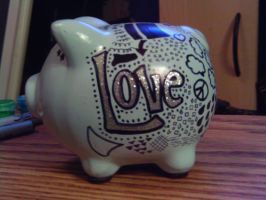 Piggy Bank by beccaecka