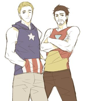casual Cap n Iron by mixed-blessing