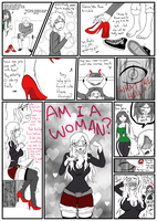 Why u should NOT wear your girlfriend's high heels by Gwyndolin115