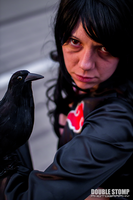SNJ Itachi and crow by Kathrynsama