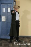 Doctor Who Photoshoot: The eleventh Doctor by StrangeStuffStudios