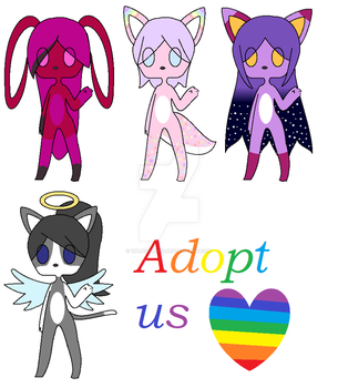 Adopt Bunch. by vulpicuno13