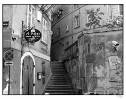 Steps up to Vienna centre by TiZa
