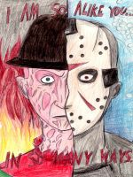 Freddy vs Jason by HorrorMadnessPeep