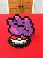Pokemon: Ditto- Hama Design by Dogtorwho