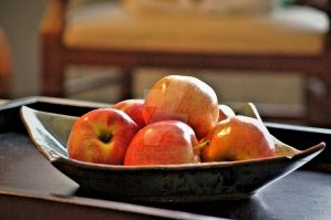 Bowl of Apples HDR by TheBirdsFeathers