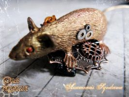 Mechanical Steampunk Mouse by Verope