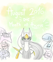 The Month of Arceus! by SpinoOne