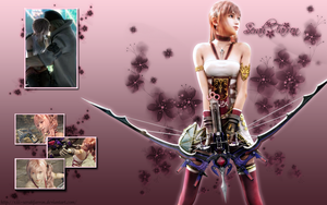 Serah Farron Wallpaper by XIII-SerahFarron