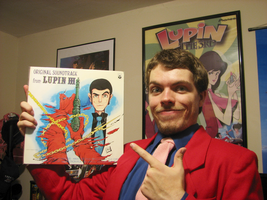 The original Yuji Ohno Lupin vinyl record by FilmmakerJ