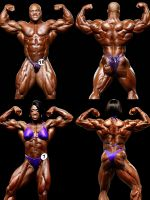Mr. and Ms. Olympia 2011 by CyrusNarcissus