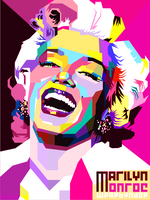 MarilynMonroe Pop Art by ndop