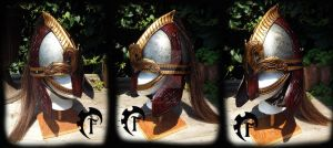 Rohirrim viking helm by Feral-Workshop