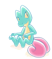 offcolor gecko by cosmic-radiation