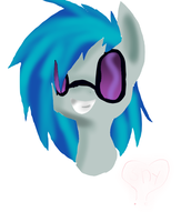 Vinyl scratch by shonnythehedgehog