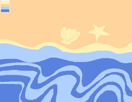 Day 20: Beach by LighteRain