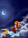 forever underneath the the milky way by TheCraftyWhiteFox