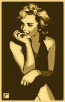 Marilyn Monroe by monsteroftheid
