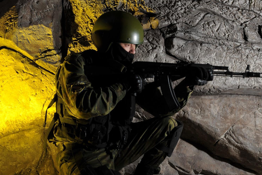 Russian Forces-Underground Cave by Ghost141