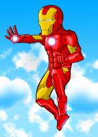 Big Head IRON MAN by Remortal