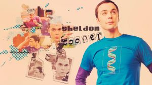 Sheldon Cooper wallpaper 2 by HappinessIsMusic