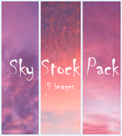 Sky Stock Pack by Emerald-Depths
