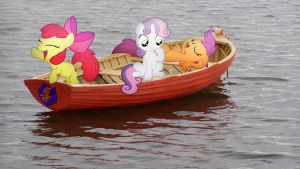 CMC On Their Boat by Macgrubor